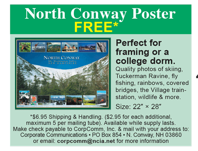 North Conway Poster