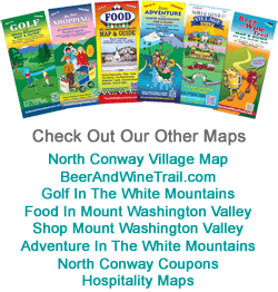 North Conway tourist Maps